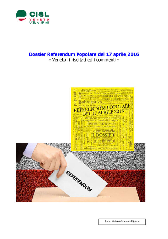 Referendum veneto votare online dating